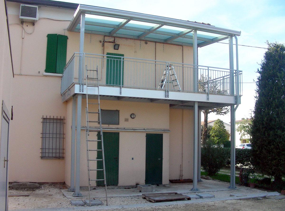 Emejing Copertura Terrazzo In Ferro Contemporary - Casa & Design ...